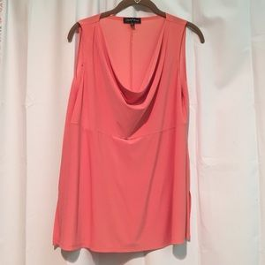 Slinky Brand Large Salmon Scoop Top